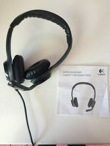 Headphones with mic and USB jack