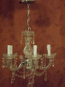 CHANDELIER - PERFECT FOR THE PRINCESS BEDROOM
