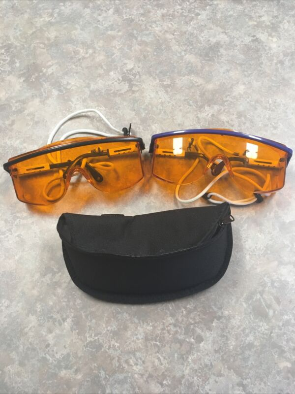 Pair Of Laserscope 532nm Laser Safety Glasses With One Case