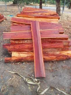 6 foot ironbark hardwood fence posts