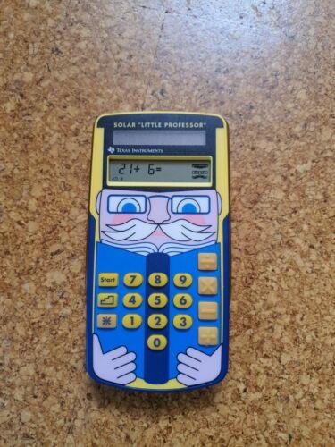 TI Little Professor - SOLAR - Texas-Instruments Taschenrechner - Rechentrainer