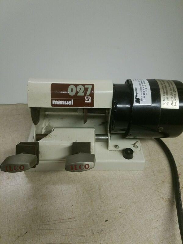 ILCO O27 MANUAL KEY BLANK CUTTER MACHINE