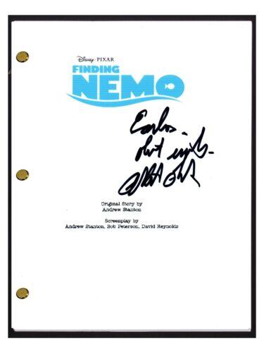 Albert Brooks Signed Autographed FINDING NEMO Full Movie Script Screenplay COA