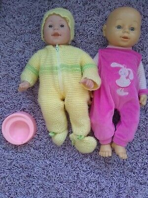 Baby Doll Bundle With Clothes And Potty