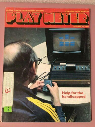 Play Meter Magazine Oct 15, 1982