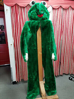 Frog Mascot Character Costume Plush Birthday Party Surprise
