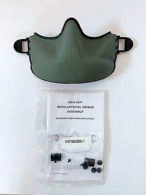 HGU-56P Maxillofacial Shield Face Mask Flight Helmet NEW