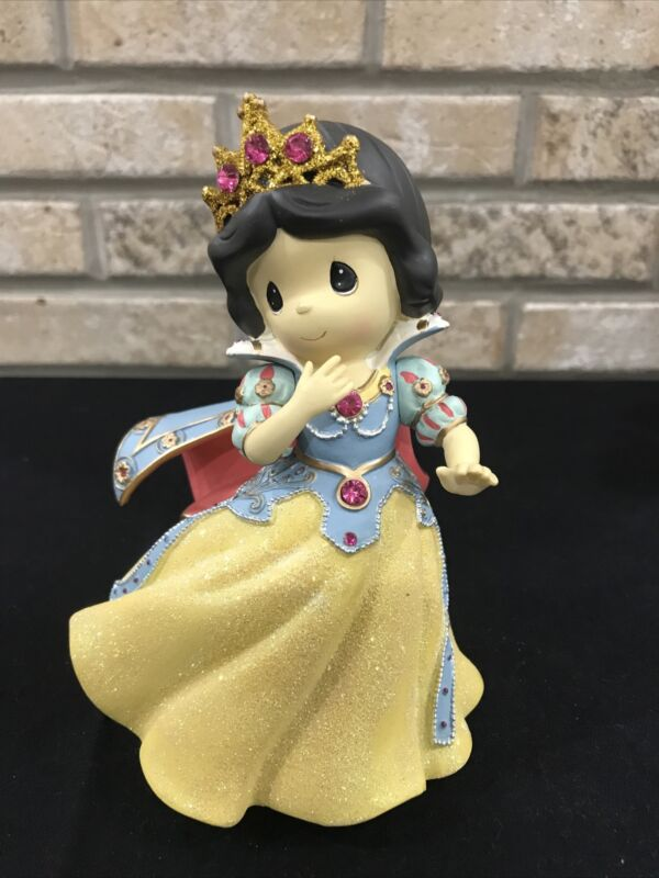 Disney Showcase Precious Moments SNOW WHITE Musical Figurine - Music Box