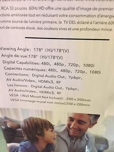 HD télévision 32'' rca