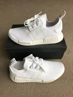 Adidas NMD R1 Japan Triple White size UK8