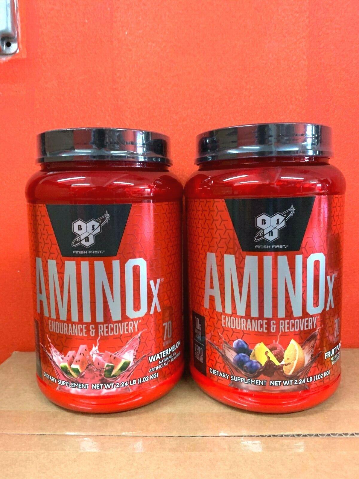 BSN AMINO X Endurance & Recovery Drink BCAA AMINOx 70 Servin