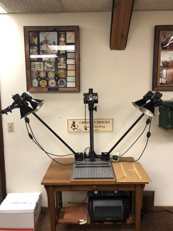 Beseler CS 14 Photo Copy Stand Kit with Lights and Camera Available Separately