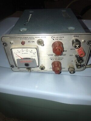 Power Designs 4005r Transistorized Power Supply