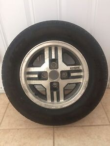 """13"""" Mazda RX7 wheels and tires 185/70/R13"""