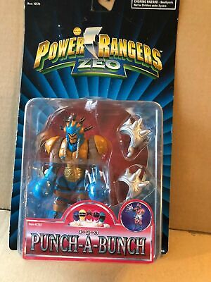 Power Ranger Zeo 1-2-3 Punch a lot rare space Alien New in...