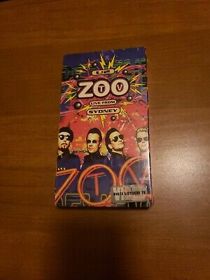 U2 - Zoo TV Live From Sydney (VHS, 1994) comprar usado  Enviando para Brazil