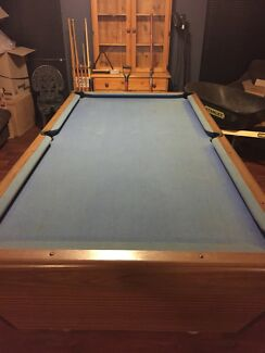 Slate pool table other sports fitness gumtree australia perth slate top pubpool hall style pool table with accessories watchthetrailerfo