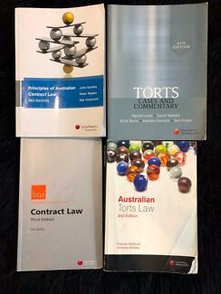 Law Textbooks (Contract & Tort)