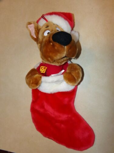 Gemmy Cartoon Network Singing/Talking Scooby Doo Christmas Stocking Working