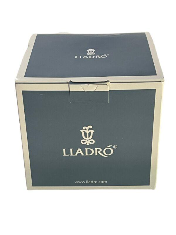Lladró Porcelain Lithophane Votive light - Thanksgiving White NEW IN BOX