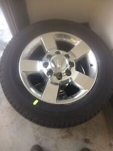 "GMC 2500 / 3500 set.   New.  20"".  Toyo CTs, GY SRA's"