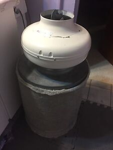 Carbon scrubber/air filter