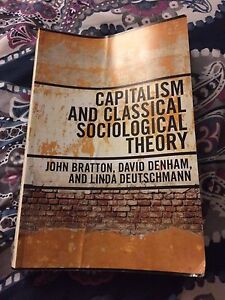 Good shape capitalism and classical sociological theory
