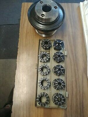 Jacobs Model 50 Collet Chuck And Collets