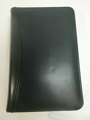 Franklin Covey Compact Dark Green Aniline Leather 6 Ring 1 Binder Planner Usa