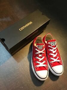 Converse All Star red low cut