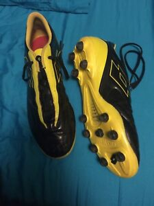 Soccer cleats hardly used