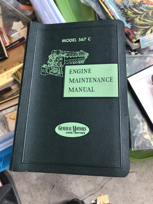 GM Model 567C Engine Maintenance Manual