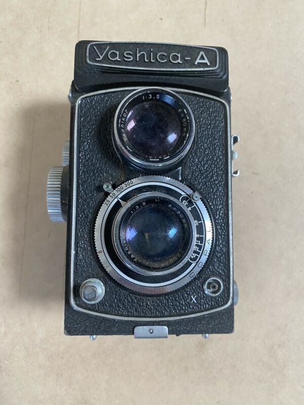 Vintage YASHICA A TLR 6X6CM CAMERA!! Free Shipping!!