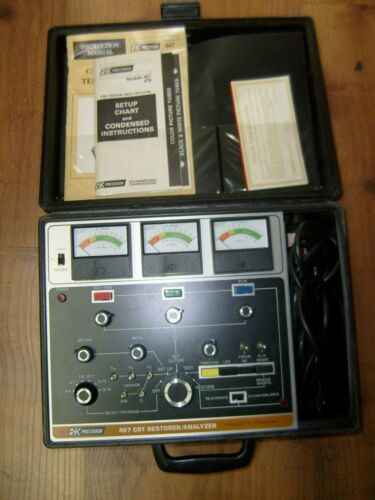 ~ B&K Precision Dynascan Model 467 Picture Tube Restorer Analyzer CRT TV Repair