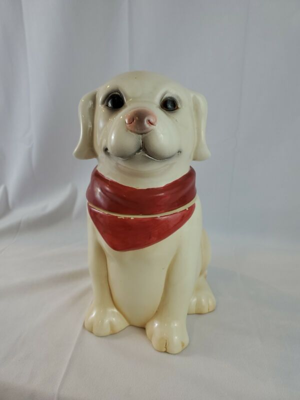Dog Lab Cookie Jar by Young's Heartfelt Kitchen Creations - Free Shipping
