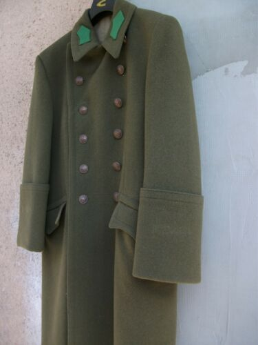 WW2 Hungarian Infantry Enlisted or NCO wool Overcoat Greatcoat uniform M NEW