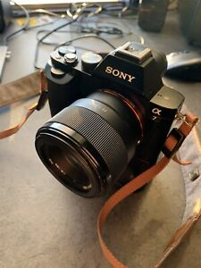Sony A7 with lenses and accessories... low shutter. OBO