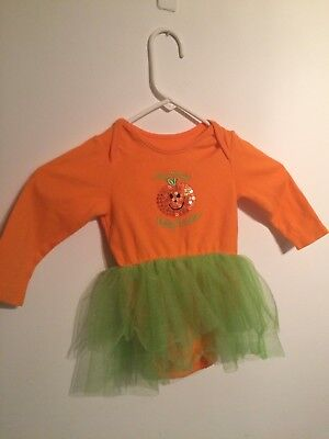 BABY HALLOWEEN COSTUME OUTFIT - MUMMYS PRETTY PUMPKIN  - SIZE AGE 9 -12 MONTHS  - Halloween Costumes Age 9-12 Months
