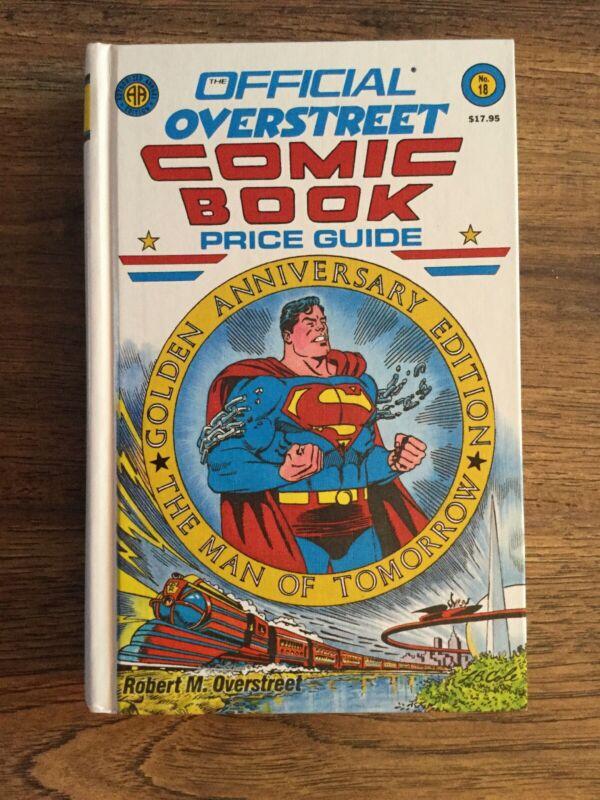 Overstreet Comics Price Guide #18- Superman - Hardcover 1988