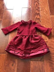 Maplelea Girl Red Holiday Outfit