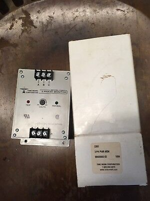 Time Mark 3 Phase Monitor Model 263 Voltage 480
