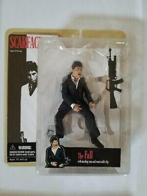 "Scarface MEZCO Figure ""The Fall"" Al Pacino Tony Montana (19820)  **NEW**"