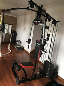 Cable gym , weights, fitness machine, used , kg ,press Lake Heights Wollongong Area Preview