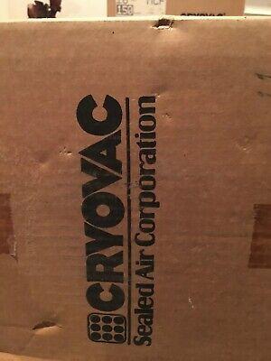 Cryovac Shrink Wrap Film 16 Wide 75 Gauge .75 Mil 3500 Center Fold