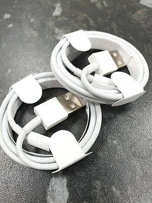 Genuine Apple 1m Lightning USB Charger Sync Lead Cable For iPhone 8 7 6S 6 5S 5C