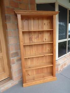 Timber Bookcase Mount Mee Caboolture Area Preview