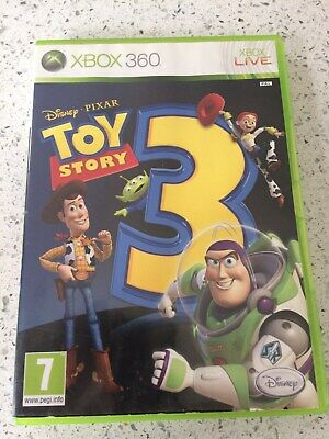 XBOX 360 GAME - TOY STORY 3 - TOYSTORY THREE