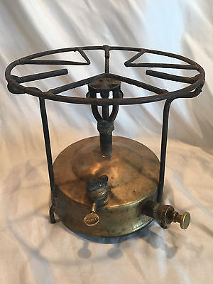 Antique GB Gustav Barthel Copper/Brass Kerosene Oil Pressure Camping Stove Juwel, used for sale  Shipping to Nigeria
