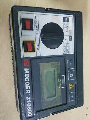 Avo Megger 210600 Insulation Continuity Tester Biddle Portable Test Unit