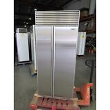"""SUB-ZERO 36"""" w/PERFECT STAINLESS SIDE BY SIDE BUILT-IN REFRIGERATOR @REFURBISHED"""